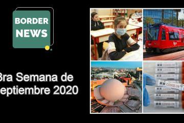 Border News: 3era semana de septiembre