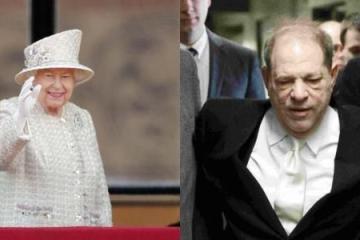 Reina Isabell II retira a Harvey Weinstein título como Caballero...