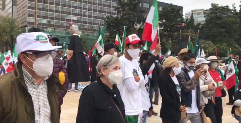 AMLO impide manifestación pacífica en CDMX