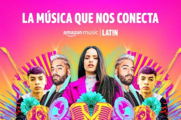 Lanzan Amazon Music LAT!N con grandes exclusivas