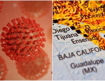 Baja California continúa en rojo: Más del 50% de los contagios se...