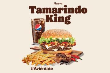 ¿Hamburguesa con tamarindo? Burger King lo hace posible en México