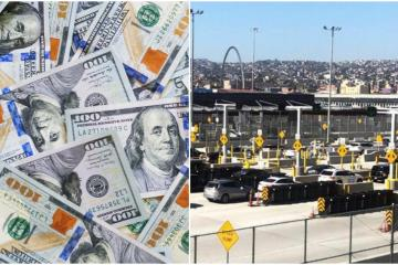 How much undeclared money can I cross from the U.S. into Mexico?
