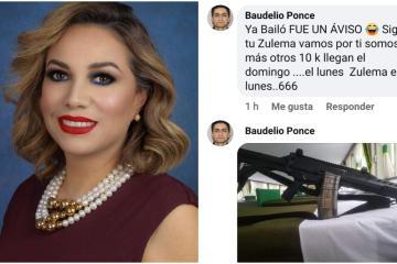 Alcaldesa de Tecate recibe amenazas de muerte tras destituir a...