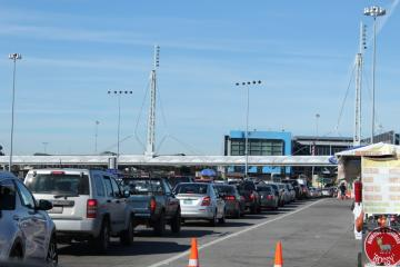 Border crossing restrictions will be lifted when we are at a green...