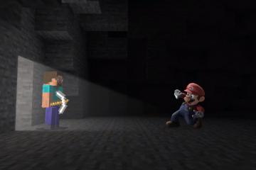 Minecraft y sus personajes aparecerán en Super Smash Bros Ultimate