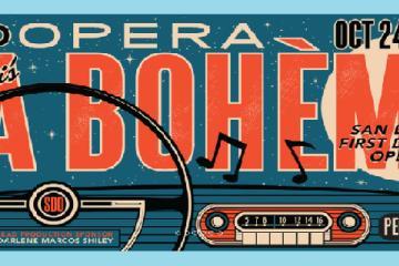 San Diego presentará primer Drive-in Ópera: La bohème