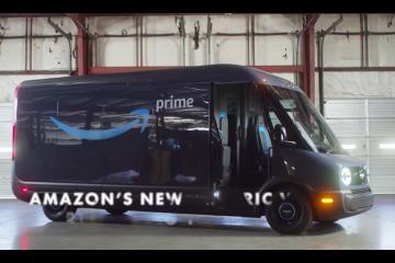 Amazon entregará sus pedidos en van eléctrica