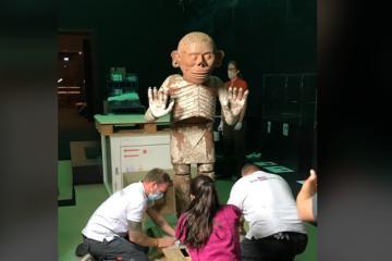 La exposición Aztecas llega al Museo Etnográfico de Viena, en...