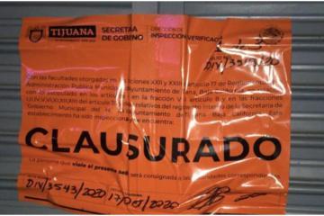 Multas y clausuras a establecimientos en Tijuana por no cumplir...