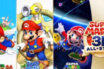 Super Mario 3D All-Stars es el mejor estreno digital de Switch