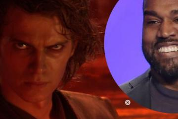 Kanye West lanza canción inspirada en Star Wars: Episodio III