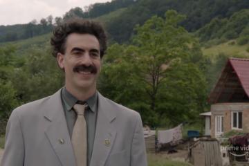 Sorprende Borat 2 con aguda crítica hacia la política estadounidense