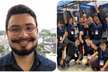 Mexicano obtiene primer lugar en concurso de robótica en Japón