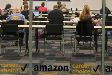 Amazon creará 100 mil empleos temporales y ascendió a 35 mil...