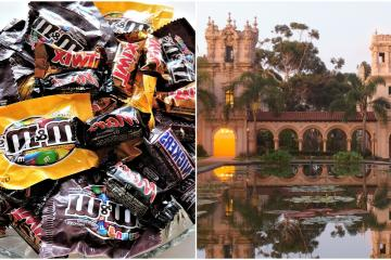 27 spaces in San Diego that will give out candy for Halloween