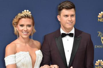 Scarlett Johansson y Colin Jost están oficialmente casados