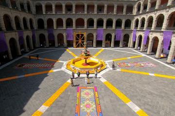 Rinden homenaje en Palacio Nacional a los fallecidos por Covid-19