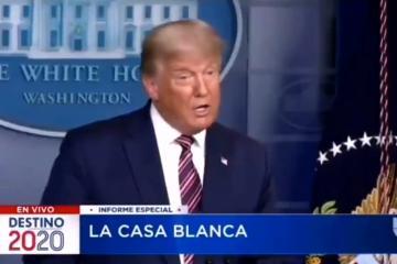 Jorge Ramos aplica censura a las palabras de Donald Trump