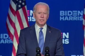 """""""Vamos a ganar esta carrera con una clara mayoría"""" Joe Biden"""