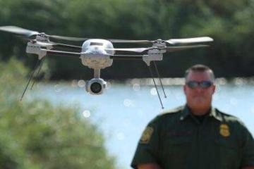Border Security Agents Use Drones for Increased Surveillance in U.S.
