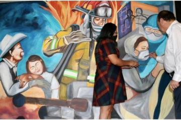Tijuana inaugurates new mural to honor health care workers