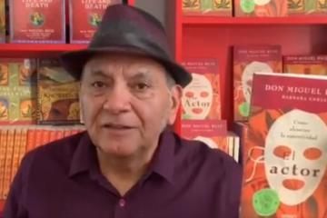 """Tijuanense Don Miguel Ruiz nos lee su nuevo libro """"El Actor"""""""