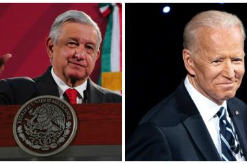 AMLO finally congratulates Joe Biden for winning the presidency of...