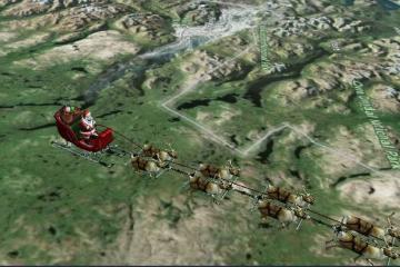¡Santa Claus está en camino! Aquí te decimos cómo rastrear su ruta