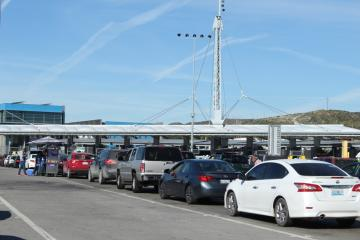 Medical pass lane at San Ysidro border port changes location