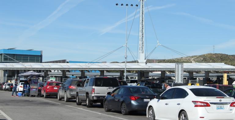 Medical pass lane at San Ysidro border port changes location