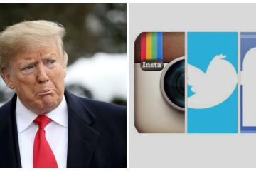 Donald Trump es suspendido de Facebook, Twitter e Instagram