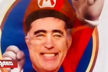 Diputado apoya campaña de presidente con imagen de Super Mario