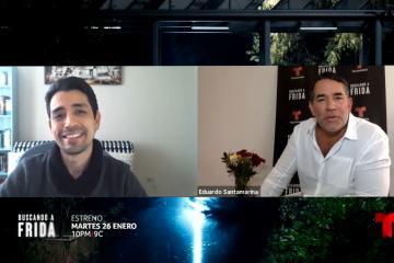 "Entrevista a Eduardo Santamarina sobre el estreno de ""Buscando..."