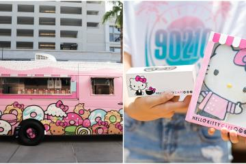 Hello Kitty fans! This kittys pink coffee returns to San Diego