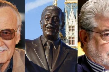 Piden colocar estatuas de George Lucas y Stan Lee en parques de Disney