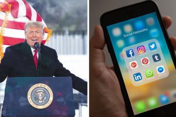 Cuentas de Facebook e Instagram de Trump continuarán bloqueadas