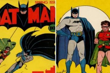 Primer cómic de Batman se vende en 2.2 millones de dólares