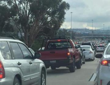 Border crossings prevent Baja California from changing to orange...