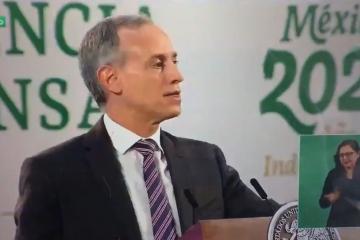 """""""No hay cancelación de la segunda dosis"""": López Gatell sobre..."""