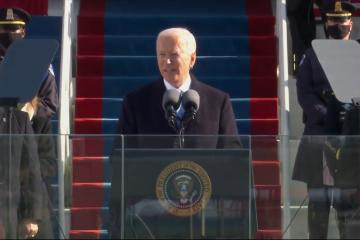 Joe Biden toma protesta como nuevo presidente de Estados Unidos