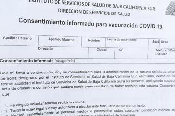 Se deslinda Gobierno de México de efectos secundarios en vacuna...