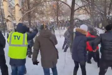 EE.UU. condena arresto de manifestantes en Rusia