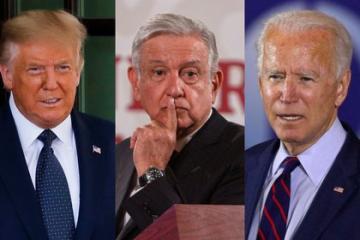 AMLO defendió a Trump en su primera llamada con Joe Biden