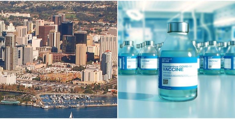 Lugares en donde te puedes vacunar contra el Covid-19 en San Diego