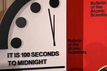 Mantienen ''reloj del apocalipsis'' a 100 segundos antes de...
