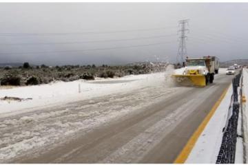 Urgent Warning: Civil Protection asks to avoid roads in La Rumorosa...