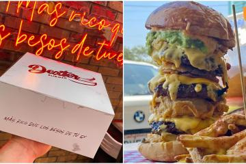 Only for the brave! Dexter Burguers has the most stacked burgers in...