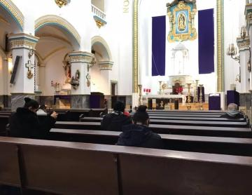 Ash Wednesday will be with 25% of capacity in Tijuana churches
