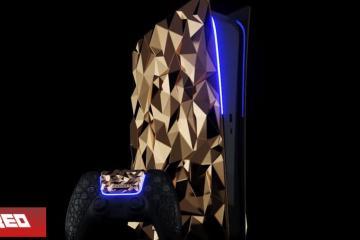 Conoce el PlayStation 5 personalizado con oro por esta empresa